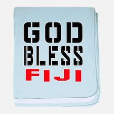 God Bless Fiji baby blanket