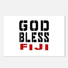 God Bless Fiji Postcards (Package of 8)