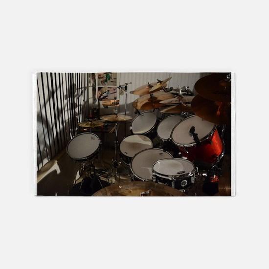 drumset 1 Area Rug