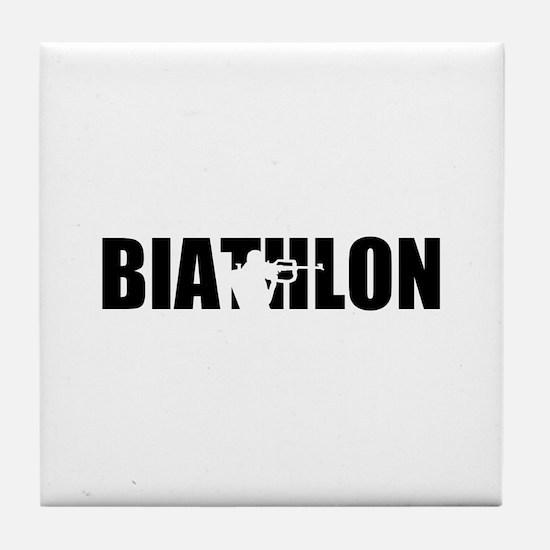 Biathlon Tile Coaster