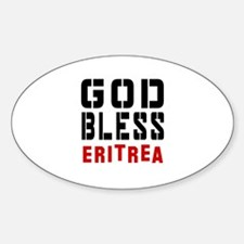 God Bless Eritrea Decal