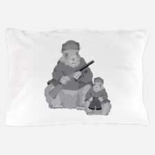 Groundhog Father Pillow Case