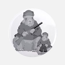 "Groundhog Father 3.5"" Button (100 pack)"