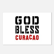 God Bless Curacao Postcards (Package of 8)