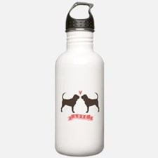 Bloodhounds Love Water Bottle