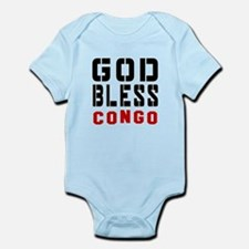 God Bless Congo Infant Bodysuit