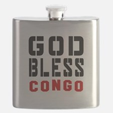 God Bless Congo Flask