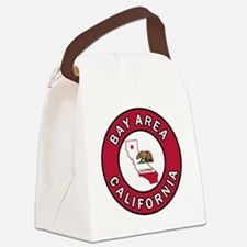 Funny California the golden state Canvas Lunch Bag
