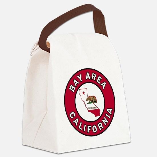 Funny Berkeley california Canvas Lunch Bag