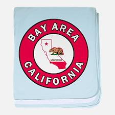 Bay Area baby blanket