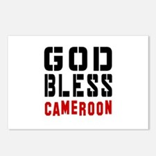 God Bless Cameroon Postcards (Package of 8)