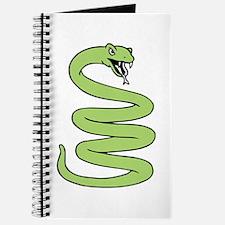 Snake Coiled Journal