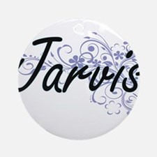Jarvis surname artistic design with Round Ornament
