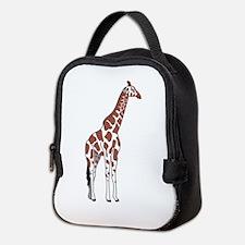Giraffe Neoprene Lunch Bag