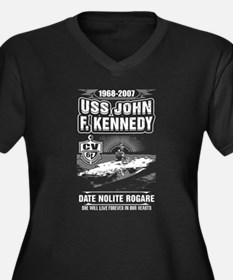 USS John F. Kennedy Plus Size T-Shirt