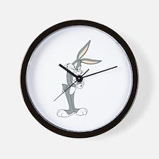Bugs Bunny thinking Wall Clock