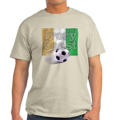 Soccer Flag Ivory Coast Light T-Shirt