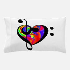 Rainbow clef Pillow Case