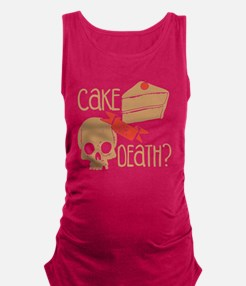 Funny Cakes Maternity Tank Top