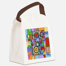 Hope, Faith, Love Canvas Lunch Bag