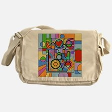 Hope, Faith, Love Messenger Bag