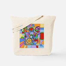 Hope, Faith, Love Tote Bag