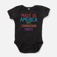 Cute Cambodian Baby Bodysuit