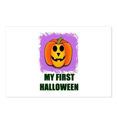 MY FIRST HALLOWEEN Postcards (Package of 8)