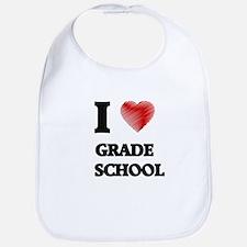 I love Grade School Bib