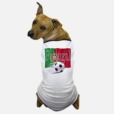 Soccer Flag Portugal Dog T-Shirt