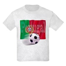 Soccer Flag Portugal T-Shirt