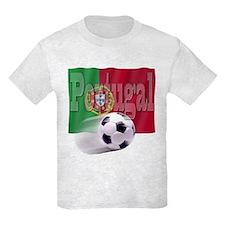 Soccer Flag Portugal T-Shirt
