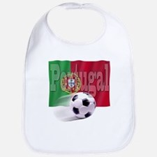 Soccer Flag Portugal Bib