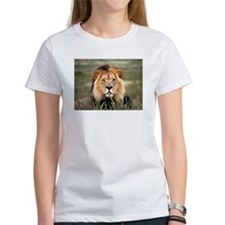 Male African lion Tee
