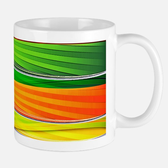 fields of bright colors Mugs