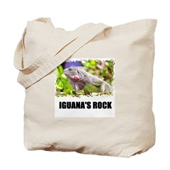 IGUANA'S ROCK Tote Bag