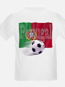 Soccer Flag Portugal (B) T-Shirt