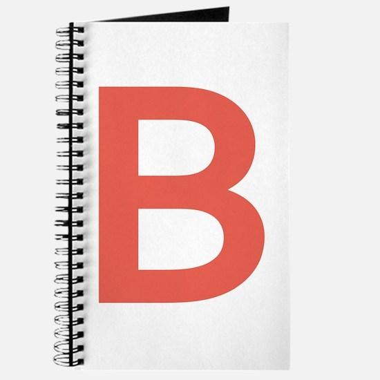 Big Red Letter Journal