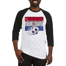 Soccer Flag Paraguay Baseball Jersey