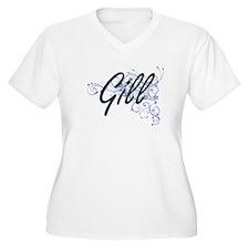 Gill surname artistic design wit Plus Size T-Shirt