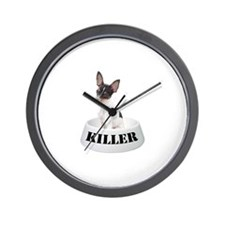 Killer Toy Fox Terrier Wall Clock