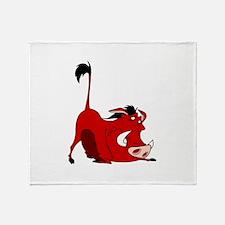 The Lion King pumbaa Throw Blanket