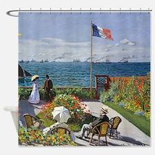 Garden at Sainte-Adresse Shower Curtain