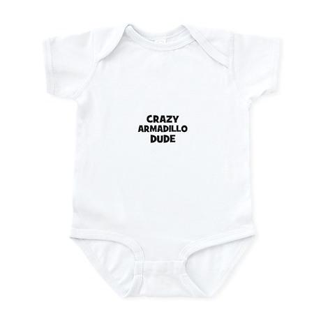 crazy armadillo dude Infant Bodysuit