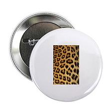 Leopard skin print Button