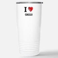 I love Grills Travel Mug