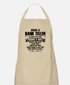 Being A Bank Teller... Apron