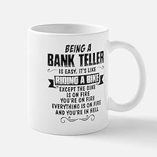 being a bank teller mugs how do i become a bank teller