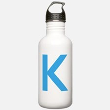 Big letter Water Bottle