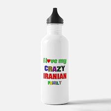 I love my crazy Irania Water Bottle